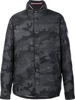 Moncler Gamme Bleu camouflage print jacket - men - Cupro/Wool - 0
