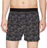 Perry Ellis Men's Peacock Paisley Luxe Boxer Short