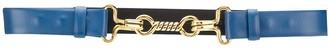 Alberta Ferretti Twist-Lock Leather Belt