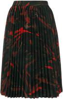 Balenciaga Hourglass Pleated Skirt