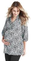 Liz Lange Women's Maternity Babydoll Tunic