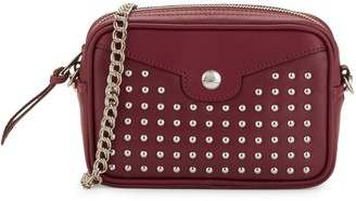 Longchamp Studded Leather Convertible Crossbody Belt Bag