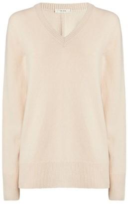 The Row V-Neck Elaine Sweater