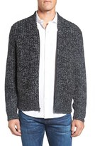 Bonobos Men's Slim Fit Baseball Sweater Jacket