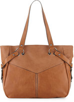 French Connection Kate Faux-Leather Tote Bag, Nutmeg