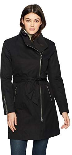 Mackage Women's Estela-d Long Sleeve Belted Trench Coat with Removable Liner