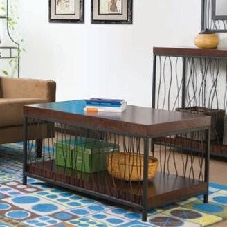 Wildon Home Wire Design Coffee Table