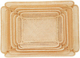 Moda Domus Set-of-5 Raffia Nesting Baskets