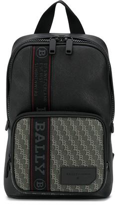 Bally BB-print logo band backpack