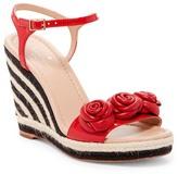 Kate Spade Jill Espadrille Platform Wedge Sandal