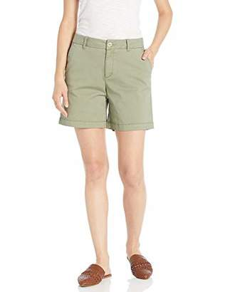 Goodthreads Chino Girlfriend Short Casual, Tan, 8