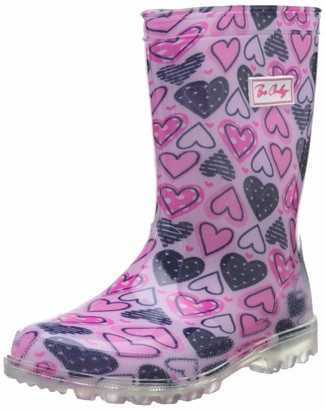BeOnly Be Only Women's Heart Flash Wellington Boots