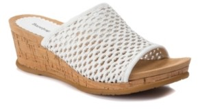 Bare Traps Baretraps Flossey Slip-On Wedge Sandals Women's Shoes