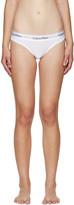 Calvin Klein Underwear White Modern Briefs