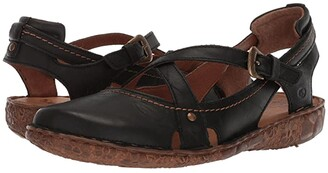 Josef Seibel Rosalie 13 (Black) Women's Sandals
