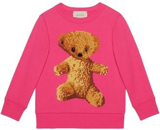 Gucci Kids Children's sweatshirt with teddy bear