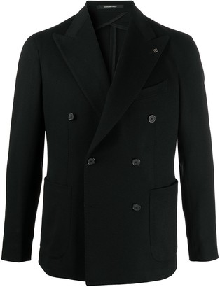 Tagliatore Double-Breasted Blazer Jacket