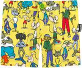 Moschino Printed poplin shorts