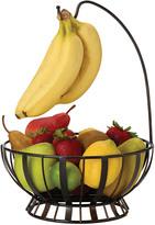 Mikasa Gourmet Basics Stripe Fruit Basket With Banana Hook