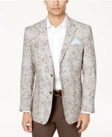 Tasso Elba Men's Floral Print Linen Sport Coat, Only at Macy's