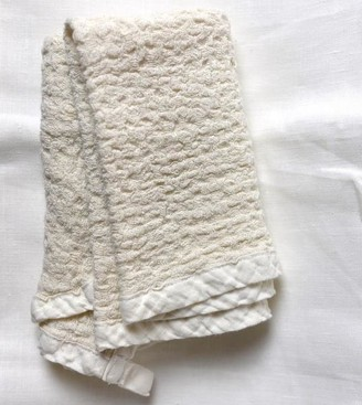 Inflax - Pure Linen Flax Hand Towel - Cream