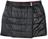 Ralph Lauren Quilted Taffeta Skirt