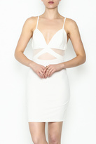 Solemio White Lightening Bodycon