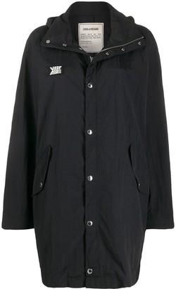 Zadig & Voltaire Kaze single-breasted raincoat