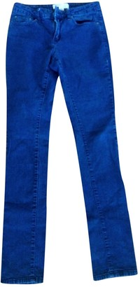 Kenneth Cole Navy Cotton - elasthane Jeans for Women