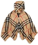 Burberry Vickie Check Wool & Cashmere Hooded Cape