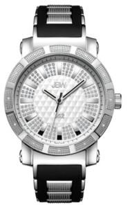 """JBW Men's """"562"""" Diamond (1/8 ct.t.w.) Stainless Steel Watch"""