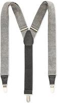 Club Room Men's Herringbone Print Suspenders, Only at Macy's