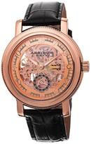 Akribos XXIV Rose Gold-Tone Men's Watch