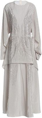 Stella McCartney Printed Silk Maxi Dress