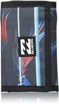 Billabong Trifold Wallet With Credit card, Note And Coin Pockets ~ Atom stripe