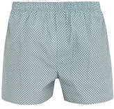 Sunspel Diamond Zigzag-print cotton boxer shorts