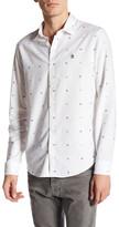 Original Penguin Nautical Printed Oxford Slim Fit Shirt