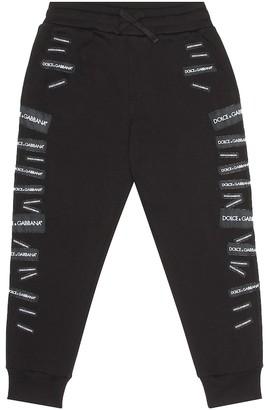Dolce & Gabbana Logo cotton trackpants