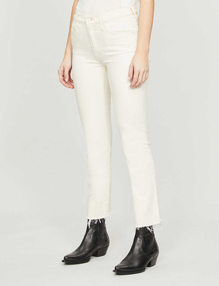 Mother The Insider high-rise bootcut jeans