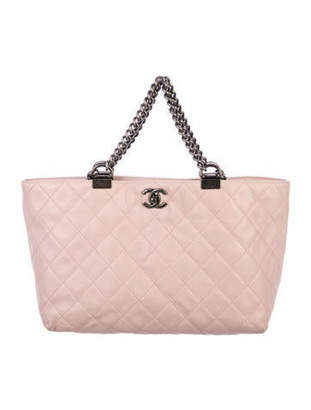 Chanel Shopping In Chains Tote pink