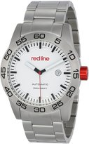 Redline Red Line Men's RL-50045-22 Mileage Analog Display Japanese Automatic Silver Watch