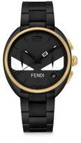Fendi Momento Bug Black & Goltone Stainless Steel Bracelet Watch