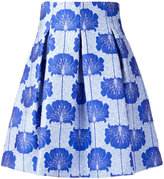 P.A.R.O.S.H. floral jacquard skirt - women - Silk/Polyamide/Polyester/Viscose - XS