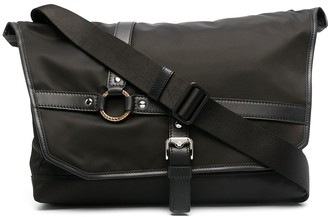 Versace Large Harness Detail Messenger Bag