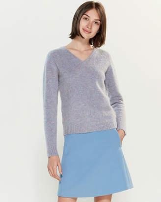 Roberto Collina Marled Long Sleeve Sweater