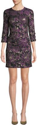 Trina Turk Moonrise Jacquard Mini Dress