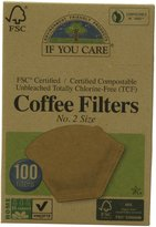 If You Care Coffee Filters - FSC Certified No2 Coffee Filters (12x100ct)