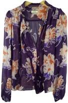 By Malene Birger Purple Silk Top for Women