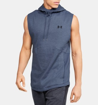 Under Armour Men's UA Double Knit Sleeveless Hoodie