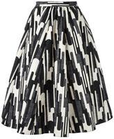 Blugirl printed midi skirt